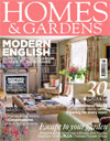 Cover of Homes and Gardens - featuring a garden by The Landscape and Garden Company